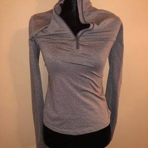 Fitted Nike running 1/4 zip